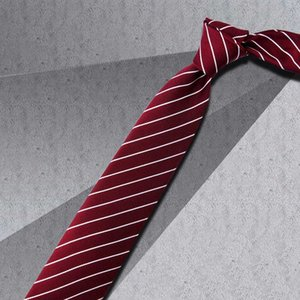 Silk tie men's formal wear business shirt black Korean version student leisure fashion professional women wedding groom gift box