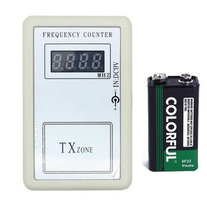 Fcarobd avec batterie Fréquencemètre Numérique Compteur De Poche Télécommande Sans Fil Portable Portable 250-450MHZ Fréquence Testeur Outil