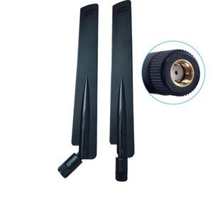 2.4GHz의 5GHz의므로 5.8GHz 안테나 8dBi RP-SMA 커넥터 듀얼 밴드 와이파이 안테나를 공중 SMA 여성 무선 라우터 2.4 GHz의 5.8 GHz의