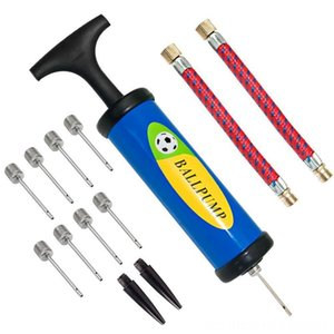 Inflator Ball Pump Needles Valve Adapter Set for Basketball Bicycle Accessories Cycling Football Balloons Volleyball and Rugby