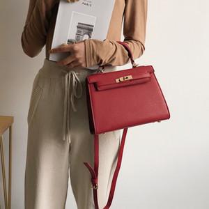 Superior2019 Kleine Sommertasche Woman Tide Handtasche Joker Single Shoulder Span Texture Kay