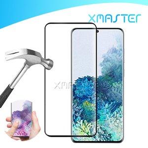 Per Samsung S20 Nota 10 Protezione di schermo per S10 Inoltre Huawei P30Pro OnePlus 7 Caso amichevole 3D curvo vetro temperato con la scatola di vendita al dettaglio