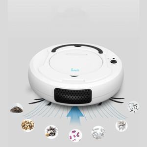 Robot Aspirateur AI Auto Balayer Dirt Dust Floor Sweeper Cleaner Balayer humide à sec pour la maison