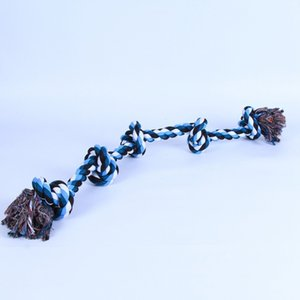 Yeni Big Dog Chew Halat Eğlenceli Hayvan Knot Oyuncak Pamuk Çizgili Halat Köpek Oyuncak Dayanıklı Yüksek Kalite Köpek Aksesuarları Toptan Chew