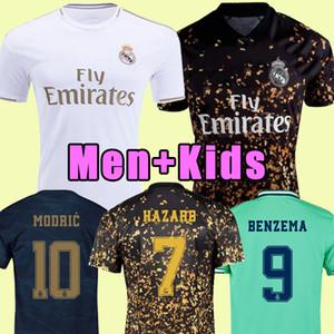 2019 2020 Real Madrid camiseta de fútbol PELIGRO hogar lejos de adulto camisa del fútbol ASENSIO de ISCO MARCELO Madrid 19 20 niños uniforma el kit de Fútbol