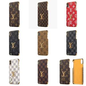 Designer iPhone Xr Phone Cases Hochwertige Rückendeckel Schützen für iPhone 8 7 X XS Max Case Weihnachtsgeschenke