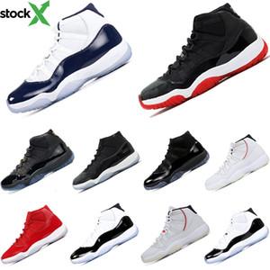 콩코드 사육 도매 낮은 조던 농구 신발 11S는 그레이 로즈 골드 대학 블루 어퍼 가죽 운동 스포츠 운동화 Size5-11 쿨