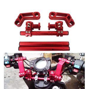 """Motocicleta CNC direcção ajustável guidão 7/8"""" 22 milímetros removível Handle Bar Sistema de 125cc Pit Bike Dirt Bike Motobike Scooter"""