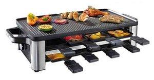 Électrique domestique du four de cuisson machine à crêpes cuisson multi-fonctionnelle double face non collant cuisson barbecue grill poêle 021