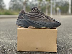vero e proprio fondo scarpe da ginnastica ultima qualità top runner trasporto libero Kanye West 3M Reflector Sneakers allenatore con box