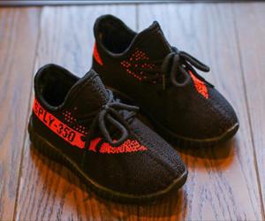 Zapatos de moda para niños zapatillas de deporte del niño de Kanye West Run zapatos infantiles para bebés niños y niñas de Menores Chaussures Pour Enfants