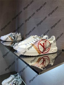 New Style Netherland Designer Piet Parra 1 White Multi Running Shoes Rainbow Park Men Trainers Shoes Womens Sneakers Size 35-45 a1
