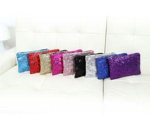 9 Colors New Bolsos Storage Bags Messenger Bag Bolsas Femininas Dazzling Sequin Glitter Handbag Evening Party Bag