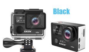Original EKEN H6S Native 4K Full-Time EIS Ultra HD Action WIFI HDMI Dual screen 170 Wide Angle remote control waterproof Sports Camera