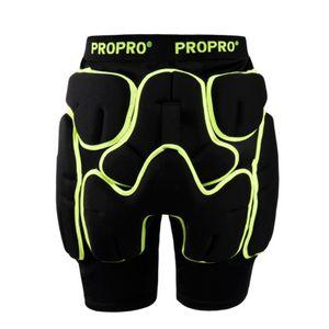 Propro Skateboard Shorts de protection en caoutchouc Patinage Ski Patinage Protecteur de la hanche Brace Rouleau Cyclisme Vélo Vélo Extérieur Extreme Sports GEA