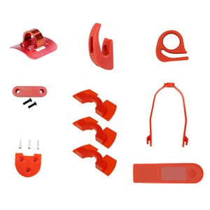 10PSC RedBlackWhite Starter Kit Accessori scooter per Scooter M365M187PRO - Red
