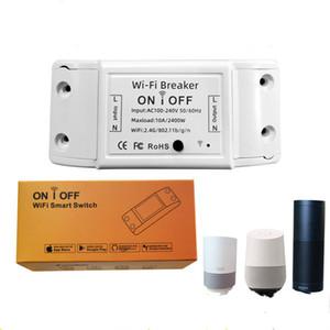 WiFi Smart Light Switch Universal Breaker Timer Smart Life APP Wireless Remote Control Work with Alexa Google Home