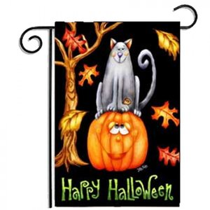 Halloween Decoration Garden Flag,It's a perfect prop for Halloween