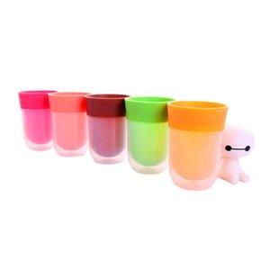 Doğru Fincan Meyve Aromalı Bardak Içecek Su Genel Lezzet Deneyimi Sihirli Fincan Merhem Suyu Şişesi Su Şişesi 5 renkler ZZA853