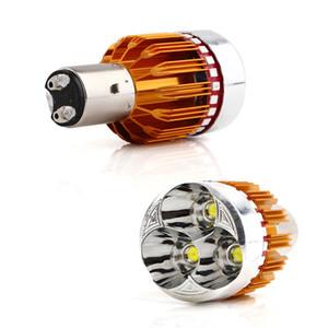 moto RGB LED Strobe BA20D moteur vélo / vélomoteur Ampoule de phare antibrouillard DRL 9W Blanc