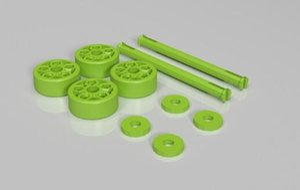 Tekerlek aks Özel sipariş yüksek kalite, yüksek hassasiyetli dijital modeller 3D baskı hizmeti Komik Oyuncak ST6140