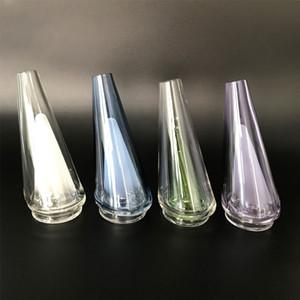 Пиковая цветная стеклянная насадка с вкладышкой и карбной крышкой, замена стекла, обеспечивающая фильтрацию и охлаждение для пика