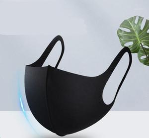 Em armazém Anti face poeira cobrir a boca PM2.5 máscara máscaras respirador Dustproof respirável lavável reutilizável Ice Silk algodão Tools1