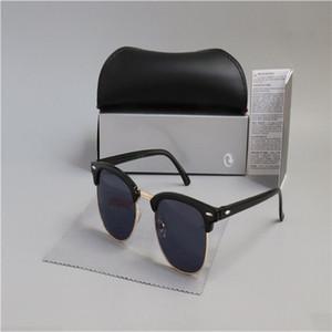 2020 gafas de sol de aviador venta caliente de lujo protección UV400 piloto de la vendimia para mujer para hombre Hombres Mujeres caminante con la caja 3016
