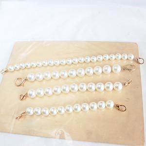 Nouveau Faux perle perlée design Sac à bandoulière femmes sac à main Bracelet Bracelet de longueur Lady remplacement Obag Poignées Accessoires Sac