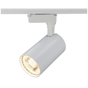 COB 12W 20W 30W 40w Led Track light алюминиевый потолочный рельсовый путь освещение пятно рельса прожекторы заменить галогенные лампы AC85-265