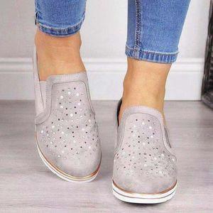 2020 Tasarımcı Kadın Ayakkabı Espadrilles Pembe elmas taklidi Casual Shoesl Patent Deri Eğitmenler arttı Platformu Ayakkabı Büyük Boy
