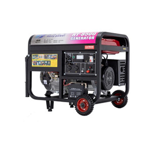 Gasoline generator household small 8000w electric start single phase 220v volt three-phase 380v8 kW outdoor miniature