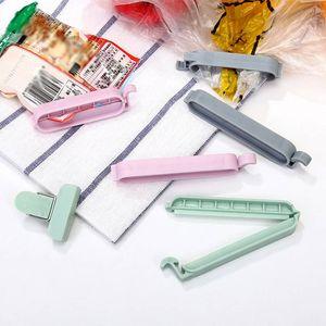 Çanta Klipler Vakum Sızdırmazlık Kelepçe Food Grade aperatif Çanta Klipler Taşınabilir Plastik Mutfak Alet Sealer Mini Gıda Saklama Torbası klipler