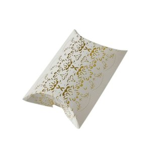 Favor Gift Box Bag New Paper Craft almofada de casamento forma de pizza caixas de bombons party bolsas Eco-friendly de papel Kraft