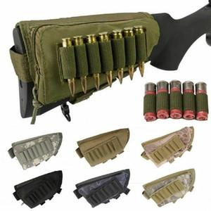 بندقية بندقية التكتيكية buttstock الخد بقية رماية الوسادة الذخيرة حالة حامل الحقيبة