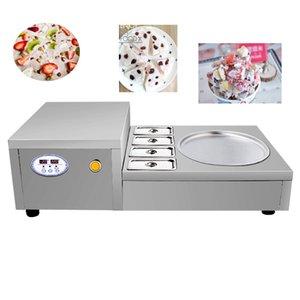 Freie Verschiffen-Qualität Thai Fried Ice Cream Roll Machine Thai Einzel Pot Fried Ice Cream Roll Machine mit 4 Schälchen