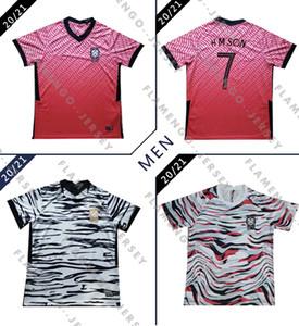 rojo casero 2020 Corea del Sur SON camisas del fútbol de 20 21 Corea del Sur distancia negro HYUNG KIM LEE KIM Ho Son JERSEY Fútbol hombres personalizados Footba