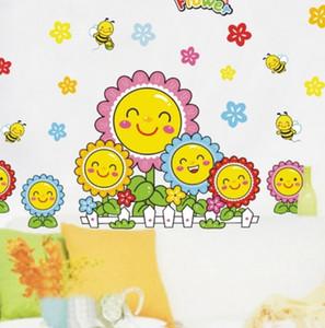Hot Kindergarten Décoration Stickers Muraux Enfants Décoratif Stickers Enfants Chambres Amovibles Mur Adhésif Décor À La Maison Amovible de Haute Qualité