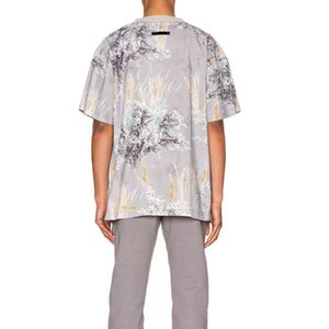 TOP Fiore Steppa Anima Camouflage Tee stampato maniche corte uomini donne paio casuale Via Skateboard T-shirt girocollo Moda HFHLTX045