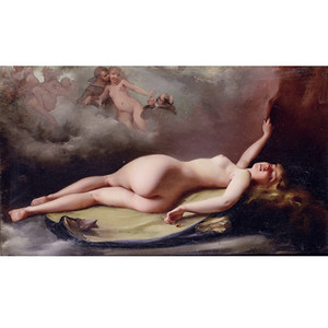 Reclining nude by Luis Ricardo Falero High Quality Handpainted  HD Print Class Classical Portraits Art oil painting on Canvas Multi Sizes