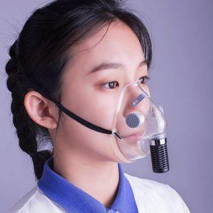 Valve Face Mask Adult Kid Protective Filtration Breathing Valve Masks Dust proof Reusable Protective Cycling Mask LJJP54