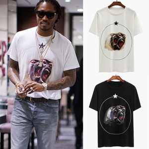 Singe Frères T-shirt Pour Hommes Tee Impression Haut 2019 SS Coton Manches Courtes Maigre T-shirts O Collier