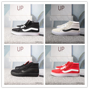 2020 Nuovo vecchio Skool SK8 Mid Reissue Mens Designer Sport Skate Shoes Uomo Donne Canvas Casual Skateboard Trainer Van S Scarpe da ginnastica
