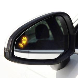 Estacionamento espelho Sensor LED Buzzer Side Estacionamento Kit Sensor para a4 a5 B8 B9 24GHz backup Radar Monitor System