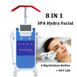 Uso en el spa instrumento de microdermabrasión hidra facial profunda Piel Limpiador al vacío con spray Oxygen Jet anti envejecimiento máquina de exfoliación hidráulica
