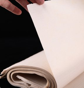 İşi kağıt hat uygulaması kağıt, ızgarasız bambu hamuru hat kağıt kalınlaşma elişi hat işleri