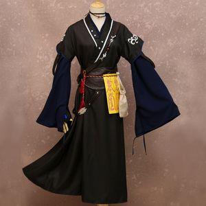 Unisex için şeytani Yetiştirme Kostüm Cosplay Mo Dao Zu Shi Kostüm Cadılar Bayramı kostümleri XUE YANG Cosplay Anime Grandmaster