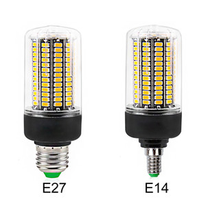 DHL LED-Lampe E27 E14 SMD5736 LED-Birne Wechselstrom 110V-220V LED-Mais-Licht 12W 15W 20W Kein Flicker für Wohnzimmer Ampoule