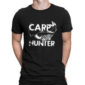 Carp Hunter Fishing Mens Angler Tackle Fishing T Shirt Normal Breathable Plus Size 5xl Designing Short Sleeve Loose Shirt