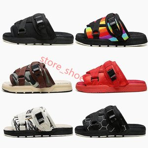 New Brand Visvim Slippers Fashion Shoes Man And Women Lovers Casual Shoes Slippers Beach Sandals Outdoor Slippers Hip-hop Street Hococal